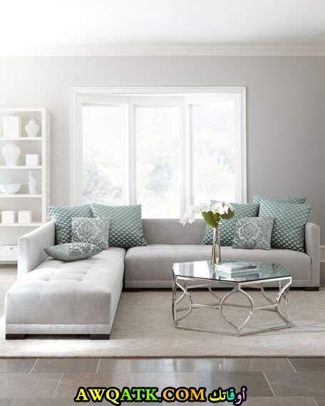 غرفة معيشة عملية أنيقة وجميلة