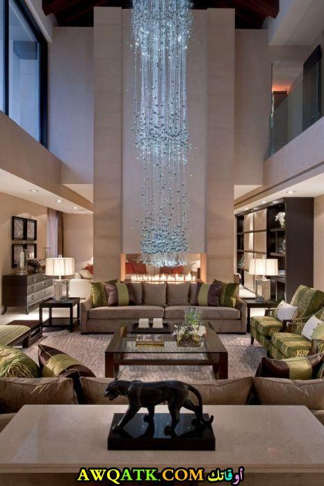 غرفة معيشة فخمة جداً وجميلة