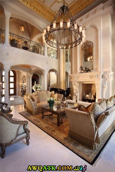 غرفة معيشة فخمة جداً وروعة