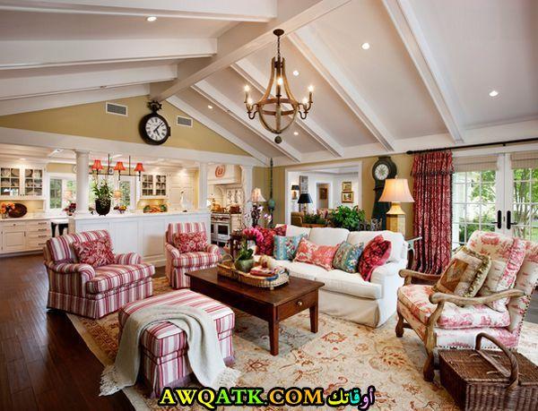 غرفة معيشة فرنسية جامدة جداً