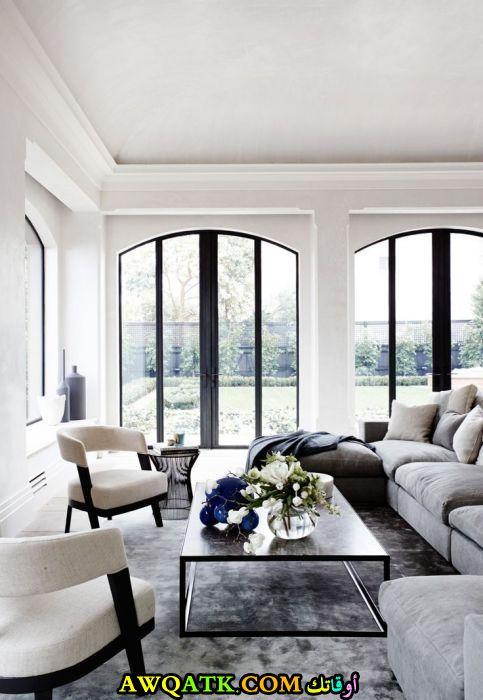 غرفة معيشة فرنسية في منتهي الروعة