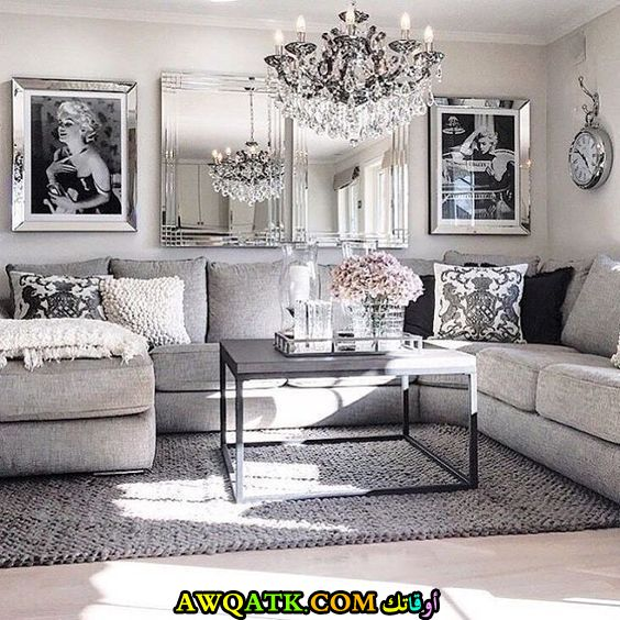 غرفة معيشة قمة في الروعة
