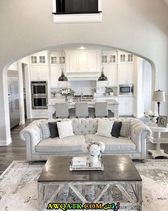 غرفة معيشة في منتهي الجمال