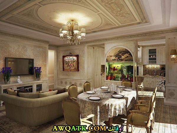 من أجمل وأحلي غرفة معيشة كلاسيك