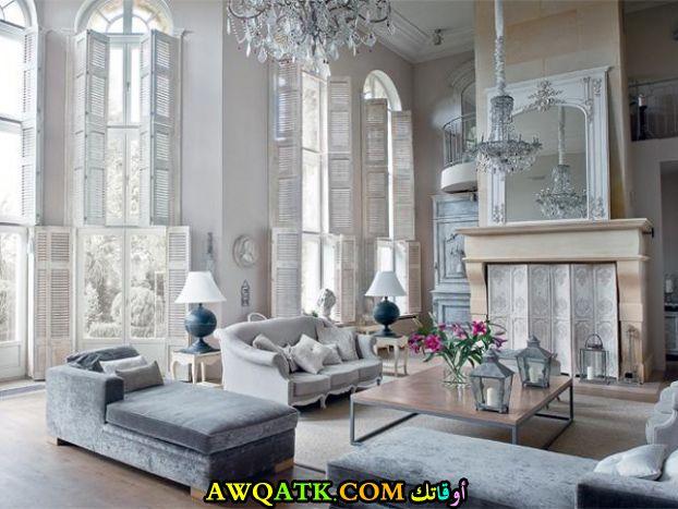 غرفة معيشة كلاسيك فخمة جداً وجميلة