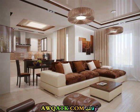 غرفة معيشة هادئة قمة في الجمال