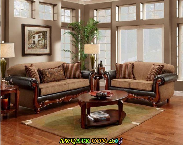 غرفة معيشة هندية جميلة جداً وشيك