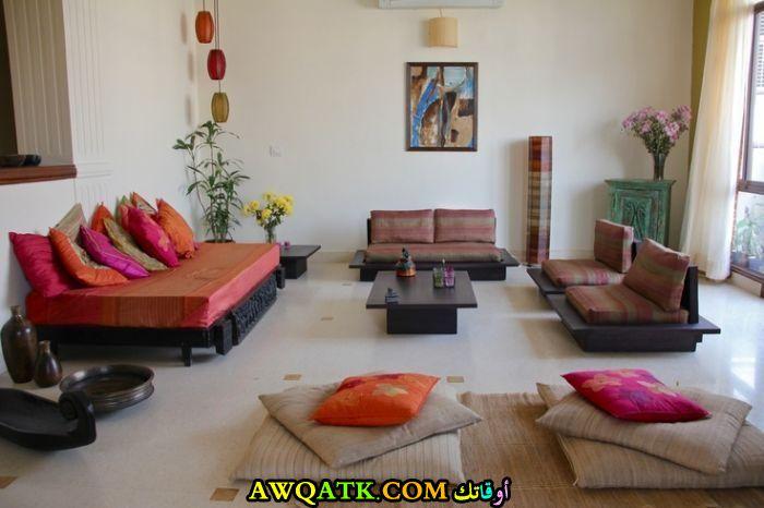 غرفة معيشة هندية روعة