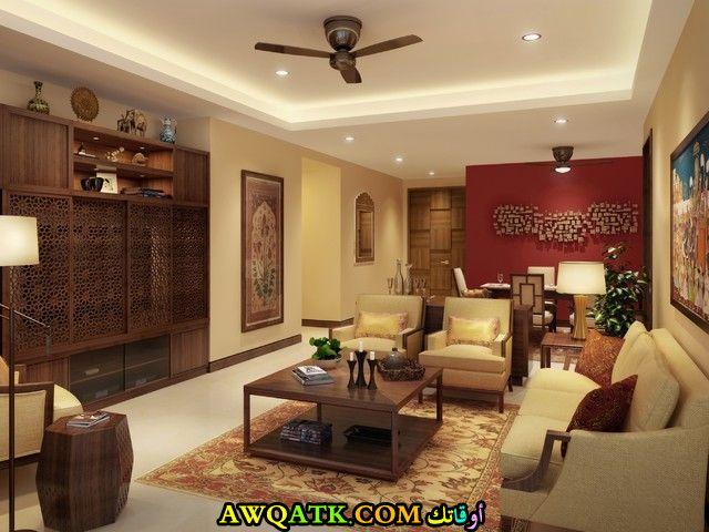 غرفة معيشة هندية قمة في الروعة