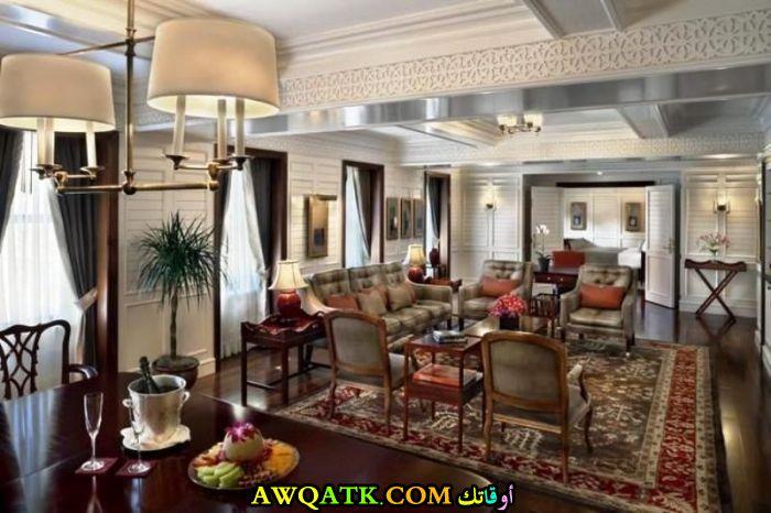 غرفة معيشة هوم بلازا روعة وجميلة
