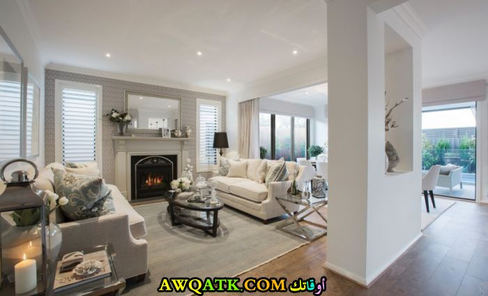 غرفة معيشة هوم بلازا جميلة جداً