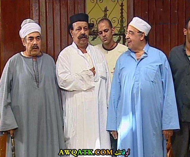 صورة للفنان غريب محمود داخل مسلسل