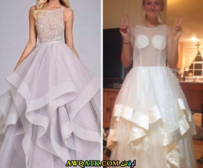 فستان مأساوي
