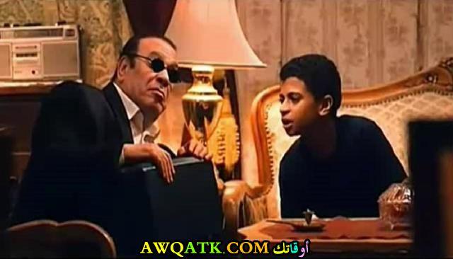 صورة الفنان المصري كريم الأبنودي داخل فيلم