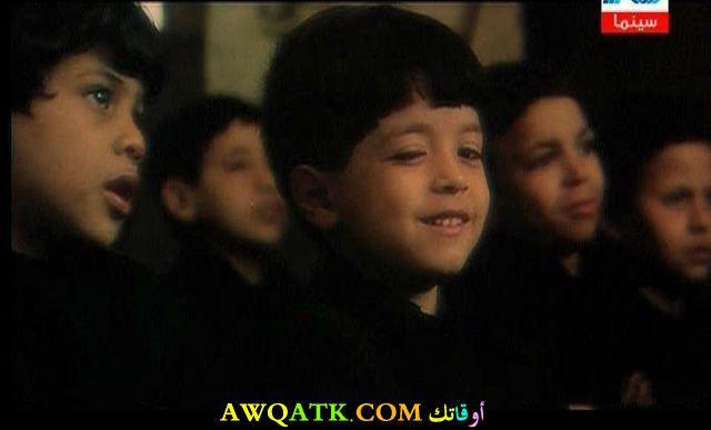 صورة الفنان ماهر عصام وهو صغير