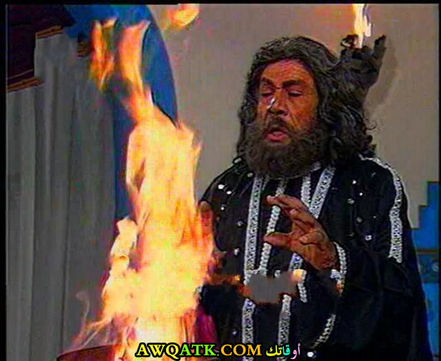 صورة محمد السبع داخل مسلسل