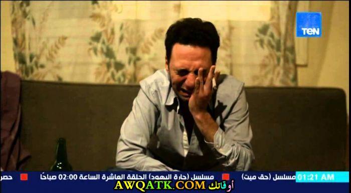 صورة جديدة للفنان محمد سلام داخل مسلسل