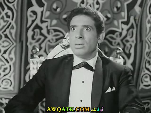 صورة الفنان المصري محمد عوض داخل فيلم