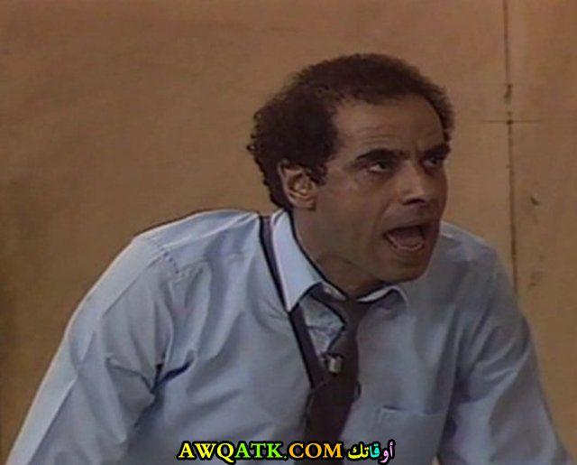 صورة للفنان محمد كامل داخل مسلسل