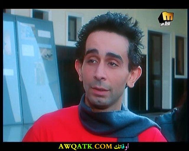 صورة الفنان المصري مصطفى هريدي داخل فيلم