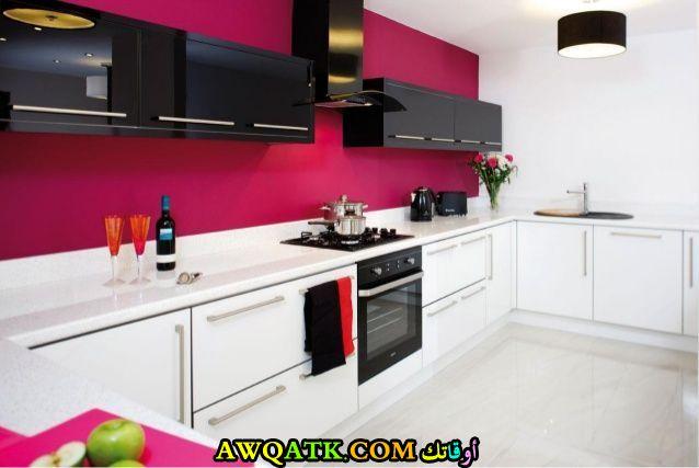 مطبخ أكريليك جميل جداً