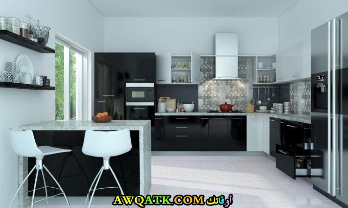 مطبخ أكريليك شيك جداً وجديد 2018