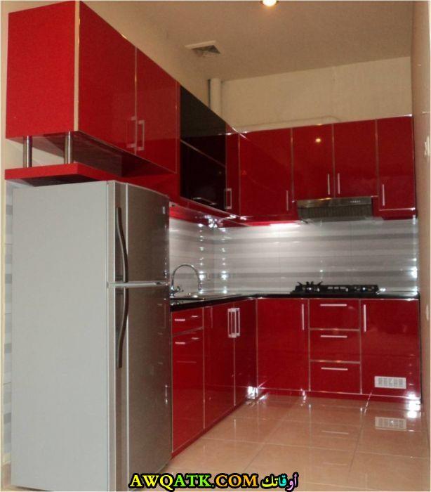 Kitchen Flooring South Africa: مطابخ حمراء صغيرة , أجمل المطابخ الصغيرة باللون الاحمر
