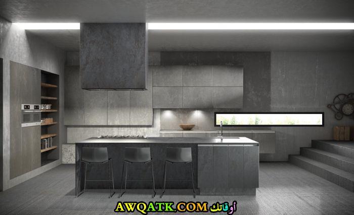 مطبخ خزف رائع وجميل