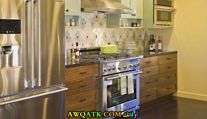 مطبخ خشموينوم بسيط وجميل