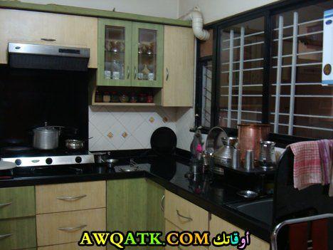مطبخ عادي بسيط جداً