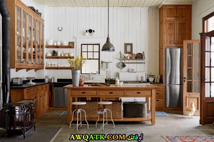 مطبخ هوم ديزاين رائع وجميل جداً