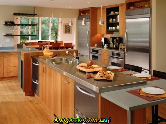 مطبخ هوم ديزاين أمريكي شيك وجميل