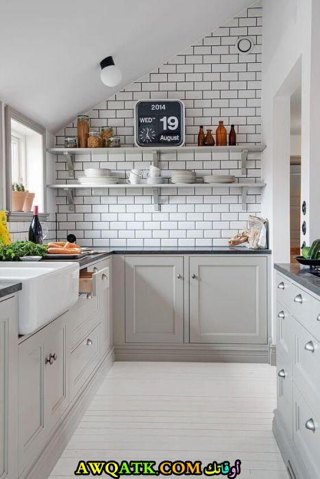 مطبخ هوم ديزاين يناسب المساحة الصغيرة