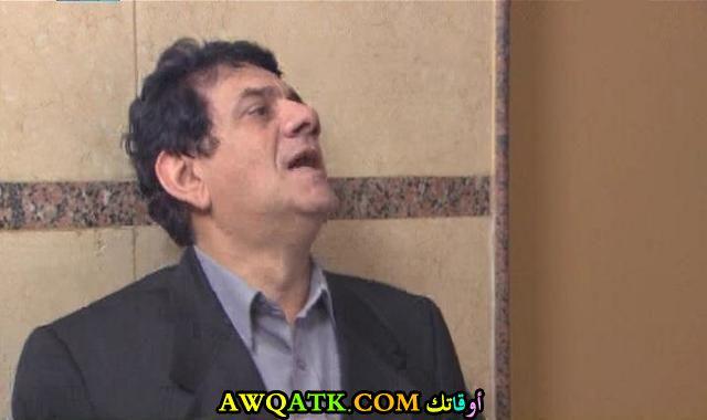 صورة للفنان مظهر أبو النجا داخل مسلسل