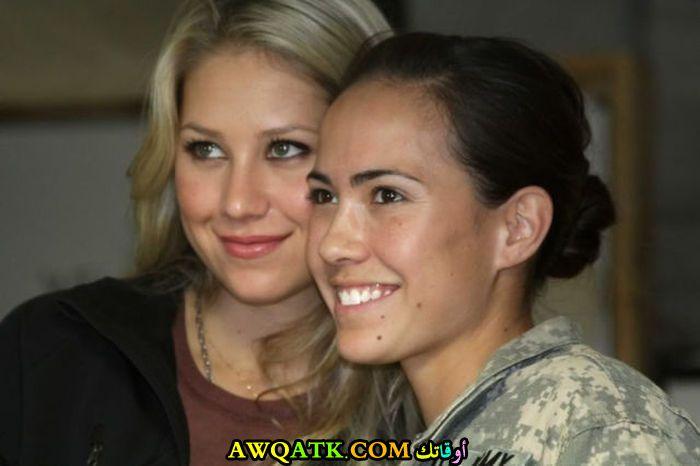 مع آنا كورنيكوفا