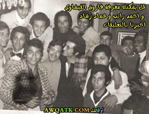 مع الفنان عماد رشاد و الفنان أحمد راتب