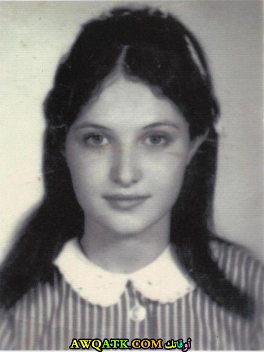 صورة قديمة للممثلة إيمان هايل
