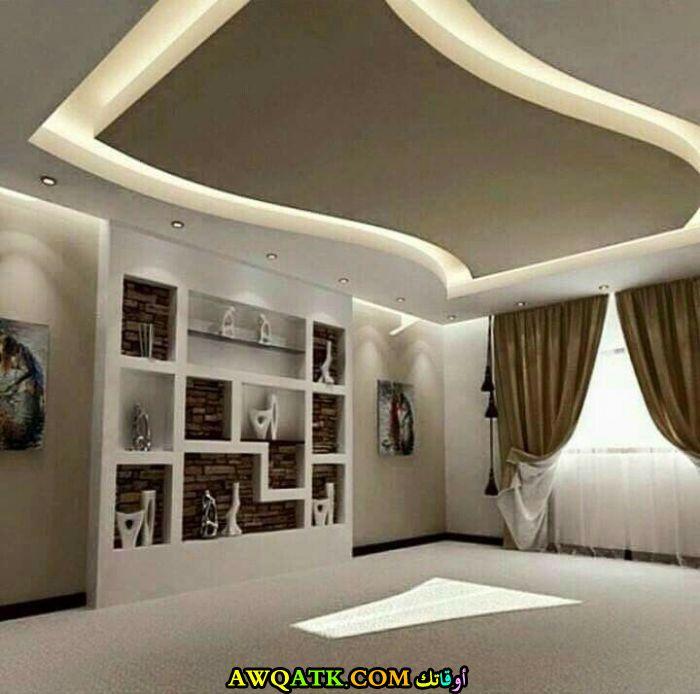 ديكور سقف جبس للفلل والقصور رائع وشيك
