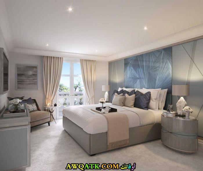 ديكور غرفة نوم فيلا مودرن وشيك