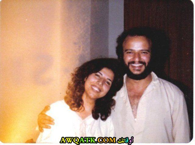 صورة قديمة للممثلة ريم سعادة