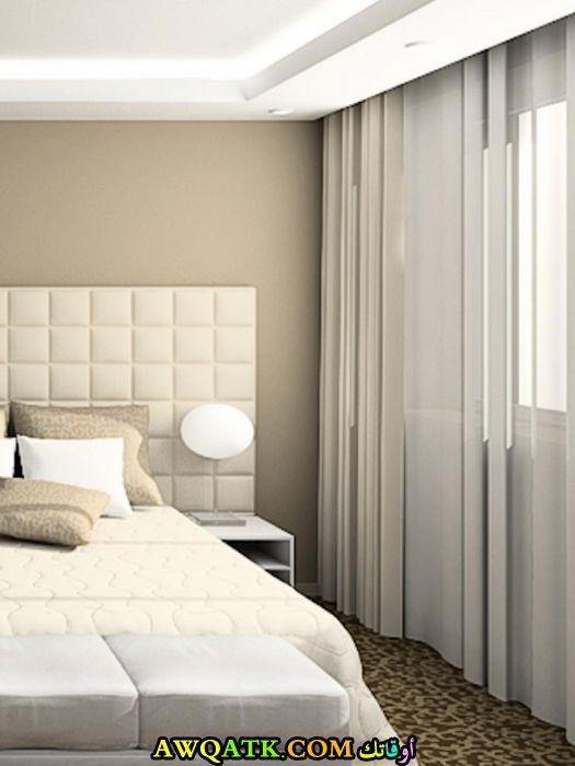ستارة للحائط مودرن جديدة باللون الأبيض