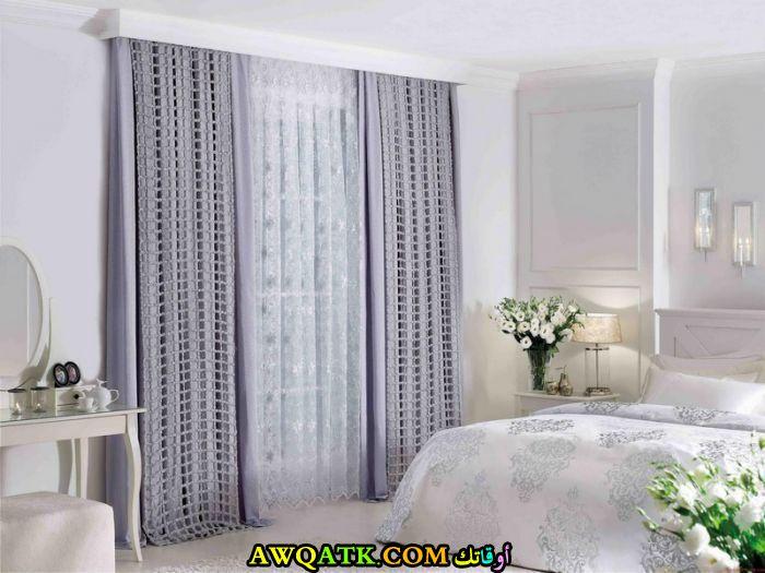 ستارة حديثة تناسب غرف النوم شيك جداً وجميلة