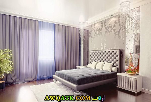 ستارة حديثة تناسب غرف النوم شيك جداً