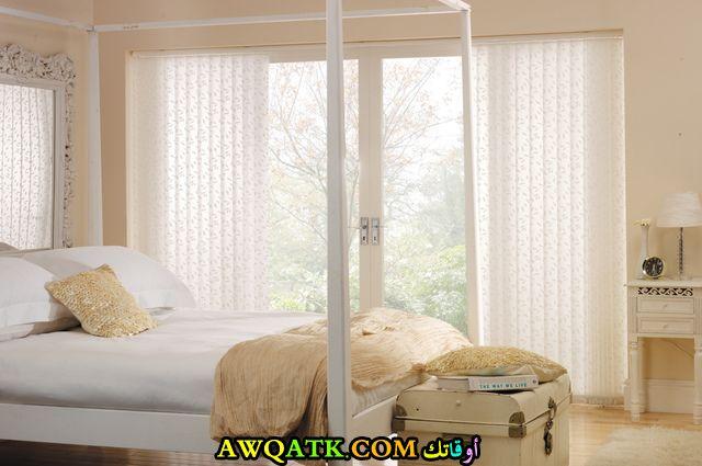 ستارة حديثة تناسب غرف النوم هادية وبسيطة