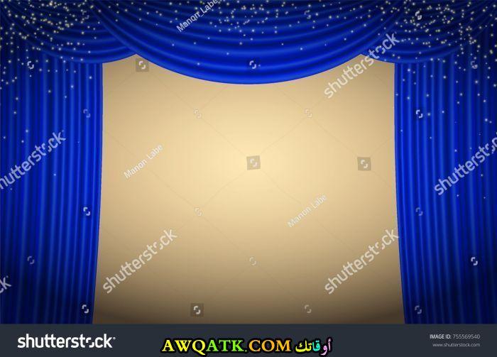 ستارة للحفلات باللون الأزرق جديدة وعصرية