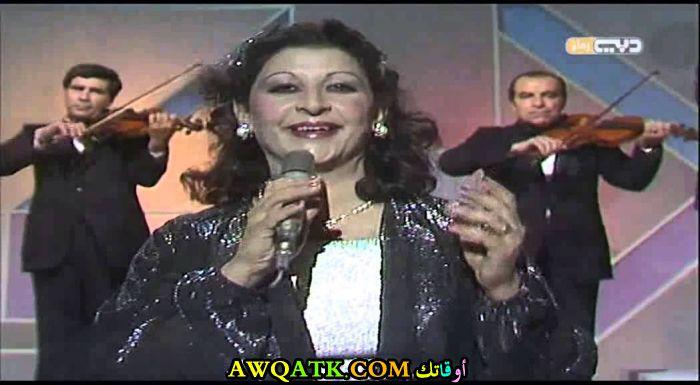 صورة قديمة للممثلة سلوى العاص
