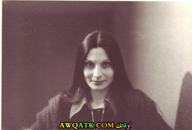 صورة قديمة للممثلة سلوى القطريب
