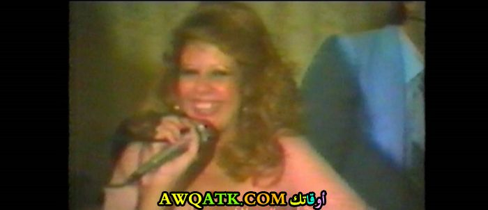صورة قديمة للممثلة سهام الصفدي
