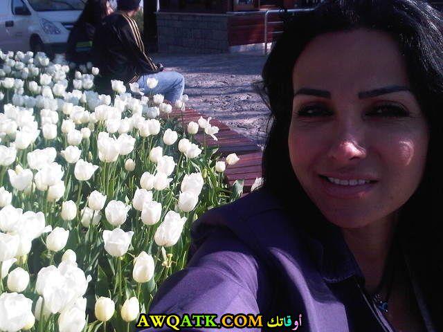 صورة قديمة للممثلة سهير عودة