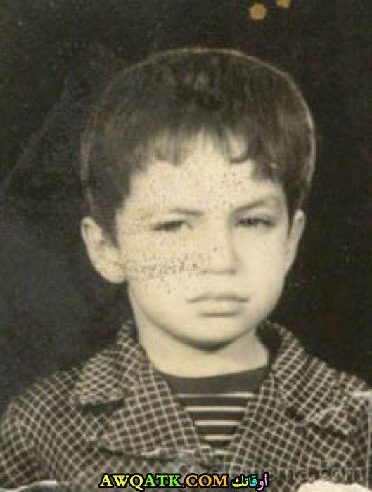 صورة الفنان شريف منير وهو صغير